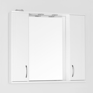 Зеркальный шкаф Style line Панда 90 со светом (2000900330014) ноутбук asus k751sj ty034d 90nb07s1 m00630