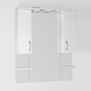 Зеркальный шкаф Style line Энигма 90 со светом (2000949017341) угол желоба внутренний grand line 125 90° коричневый металлический
