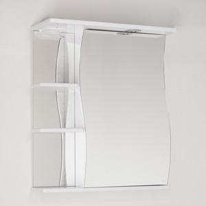 Зеркальный шкаф Style line Волна 60 со светом (2000001713181) зеркальный шкаф style line панда волна 60 со светом 2000949039916