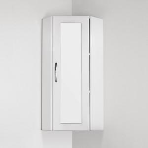 Фото Шкаф подвесной Style line Эко угловой 300*800 со стеклом (2000949009643)