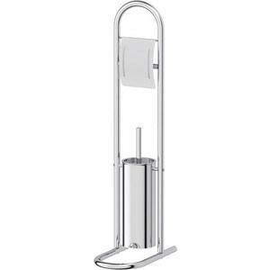 Стойка с 2-мя аксессуарами для туалета 79 cm Sorcosa Plain хром (JBS 008) ведро с педалью 20 l sorcosa plain хром jbs 005