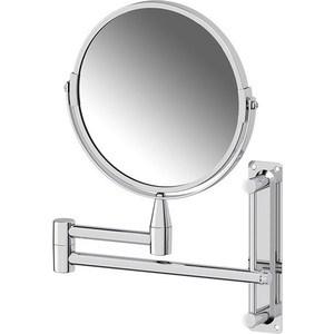 Косметическое зеркало двустороннее x2 Sorcosa Plain хром (SOR 001)