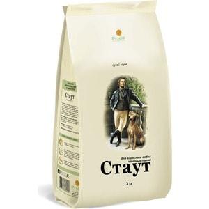 Сухой корм Стаут для взрослых собак крупных пород 15кг (СТ-10) стингер с 155 ст