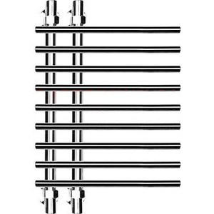 Полотенцесушитель Ника Bamboo 80х60 водяной (ЛБ 4 80/60) полотенцесушитель ника trapezium 80х40 водяной лт 80 40