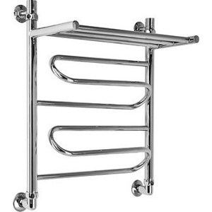 Полотенцесушитель Ника Curve 60х50 водяной (ЛЗ ВП 60/50) okaros bathroom double towel bar 60cm towel rack towel holder solid brass golden chrome plating bathroom accessories