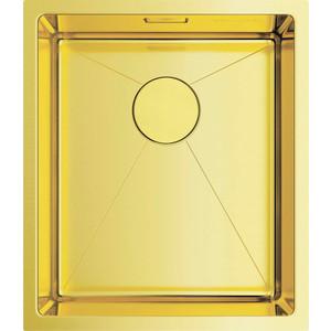 Кухонная мойка Omoikiri Taki 38-U/IF-LG, 380х440, светлое золото (4973092) кухонная мойка omoikiri taki 38 u if lg 380х440 светлое золото 4973092