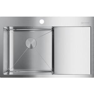 Кухонная мойка Omoikiri Akisame 78-IN-L, 780x510, нержавеющая сталь (4973060)