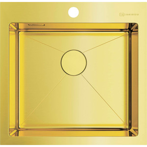 Кухонная мойка Omoikiri Akisame 51-LG, 510х510, светлое золото (4973439)