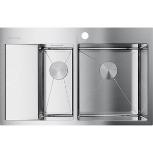 Кухонная мойка Omoikiri Akisame 78-2-IN-R, 780х510, нержавеющая сталь (4973063) блокнот ter r in comes the r in ow