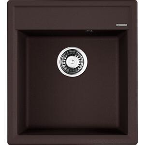 Кухонная мойка Omoikiri Daisen 46-DC, 460х510, темный шоколад (4993613) кухонная мойка omoikiri daisen 46 be 460х510 ваниль 4993608