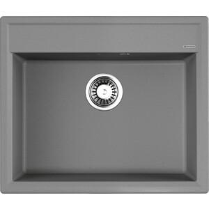 Кухонная мойка Omoikiri Daisen 60-GR, 600х510, Leningrad Grey (4993620) смеситель для кухни omoikiri tateyama s gr 4994176 leningrad grey