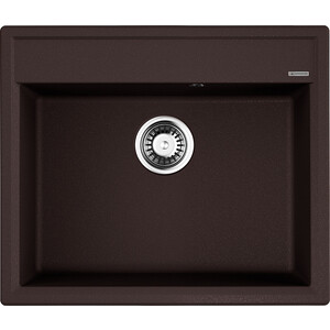 Кухонная мойка Omoikiri Daisen 60-DC, 600х510, темный шоколад (4993621) кухонная мойка omoikiri daisen 60 be 600х510 ваниль 4993616