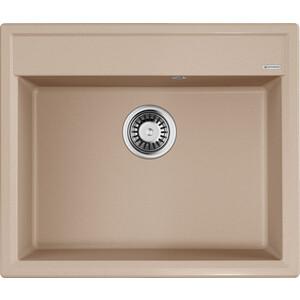 Кухонная мойка Omoikiri Daisen 60-SA, 600х510, бежевый (4993623) кухонная мойка omoikiri daisen 78 2 sa 4993417