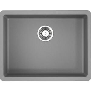 Кухонная мойка Omoikiri Kata 54-U-GR, 540х420, Leningrad Grey (4993411) смеситель для кухни omoikiri shinagawa gr 4994160 leningrad grey