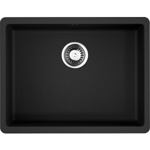 Кухонная мойка Omoikiri Kata 54-U-BL, 540х420, черный (4993410)