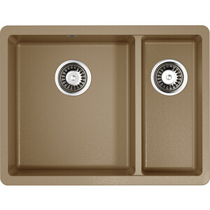 Кухонная мойка Omoikiri Kata 55-2-U-CA, 540х420, карамель (4993385)  - купить со скидкой