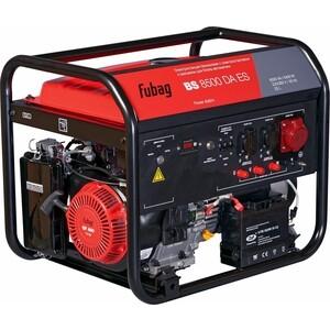 Генератор бензиновый Fubag BS 8500 DA ES генератор fubag bs 3300 es бензиновый