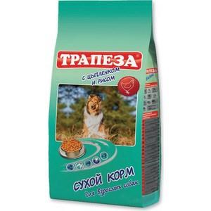 Купить сухой корм Трапеза с цыпленком и рисом для взрослых собак 13кг (59887) (687318) в Москве, в Спб и в России