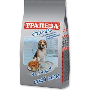 Сухой корм Трапеза Оптималь с мясом для взрослых собак, содержащихся в городских условиях 13кг (29750)