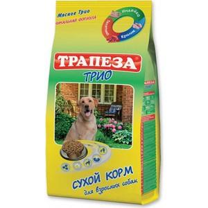 Сухой корм Трапеза Мясное трио индейка, кролик и телятина для взрослых собак 13кг (201003055)