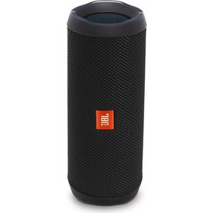 Портативная колонка JBL Flip 4 black fashion bright pu black diamond lattice flip lady hand bag