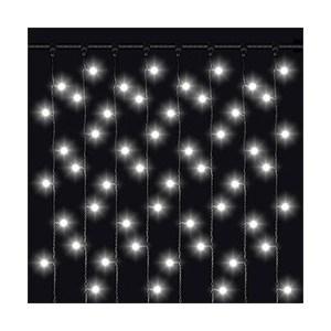 Светодиодная бахрома влагозащищенная Odeon PVCICLE-5*0.8M-20-298LED-W