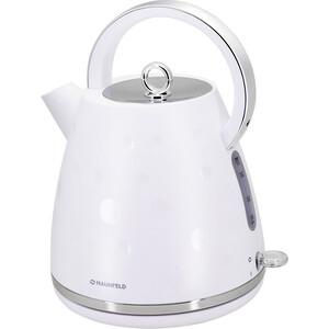 Чайник электрический MAUNFELD MFK-647WH чайник maunfeld mfk 660bg