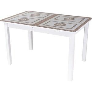 Стол Домотека Гамма ПР (БЛ ст-71 04 БЛ) стол с ящиками витра 19 71