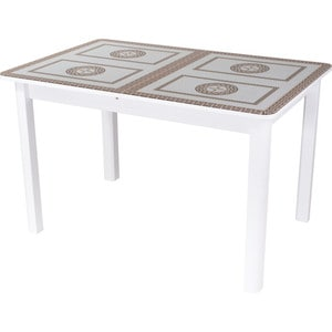 Стол Домотека Гамма ПР (-1 БЛ ст-71 04 БЛ) стол с ящиками витра 19 71