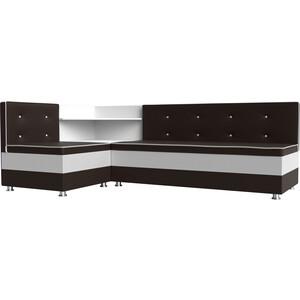 Кухонный диван АртМебель Милан эко-кожа коричнево-белый левый rich шоколад горький с лаймом 70 г