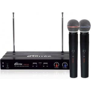 Микрофон Ritmix RWM-221 black кронштейн rolsen rwm 100 черный
