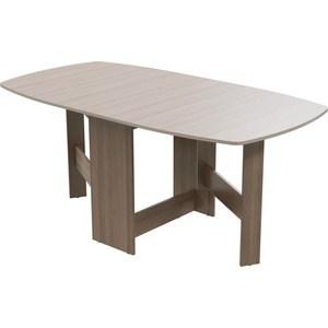 Стол книжка Гранд Кволити 1-65 ясень шимо темный/светлый стол обеденный rinner прямая ясень шимо светлый