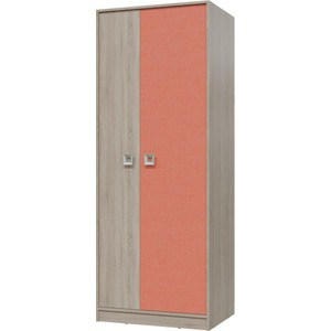 Шкаф для одежды Гранд Кволити СИТИ 6-9411 Дуб сонома/Коралл