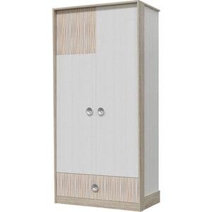 Шкаф для одежды Гранд Кволити КАРАМЕЛЬ 6-9420 Дуб сонома/Рамух белый/кипер