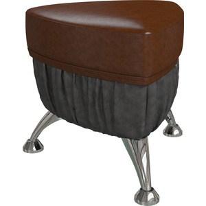 Банкетка Гранд Кволити БЕРМУДЫ 6-5107 Коричневый/Тёмно коричневый