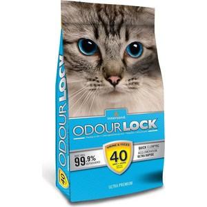 Наполнитель Intersand Odour Lock Unscented Ultra Premium Quick Clumping Litter комкующийся без ароматизатора для кошек 12кг (Л21112)