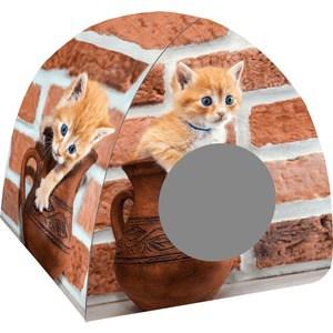 Домик PerseiLine Дизайн Вигвам Кошка в кувшине для кошек 40*40*39 см (00245/ДМД-3)