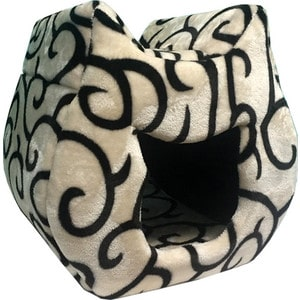 Домик PerseiLine КОШКА для кошек 38*40*40 см (00025/ДМС-4) дразнилки для кошек матовый черный текстильный назначение кошка котёнок