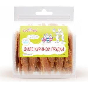Лакомство Dog Fest Филе куриной грудки для собак 500г fest cvr10k4