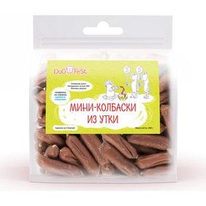 Лакомство Dog Fest Мини-колбаски из утки для собак 500г