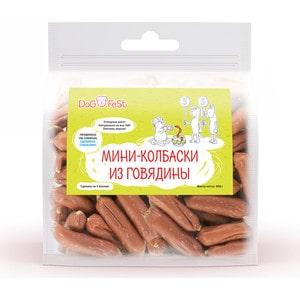 Лакомство Dog Fest Мини-колбаски из говядины для собак 500г fest cvr10k4