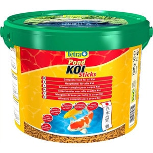Корм Tetra Pond Koi Sticks Complete Food for All Koi палочки для кои 10л корм sera pond sticks energy plus energy food for pond fish палочки для прудовых рыб 40л