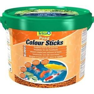 Корм Tetra Pond Colour Sticks Complete Food for All Pond Fish палочки усиление окраски для прудовых рыб 10л корм tetra pond sticks complete food for all pond fish палочки для прудовых рыб 50л
