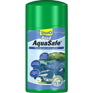 Кондиционер Tetra Pond AquaSafe Makes Tap Water Safe for Pond Fish подготовка воды для пруда 1л