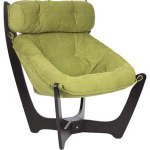 Кресло для отдыха Мебель Импэкс Комфорт Модель 11 венге, обивка Verona Apple Green