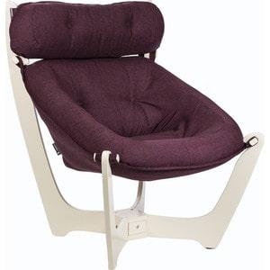 Кресло для отдыха Мебель Импэкс Комфорт Модель 11 дуб шампань, обивка Falcone Purple