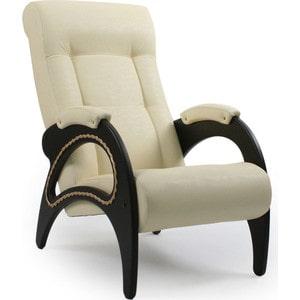 Кресло для отдыха Мебель Импэкс МИ Модель 41 венге, обивка Dundi 112 кресло мебель импэкс ми модель 11 венге каркас венге обивка dundi 112