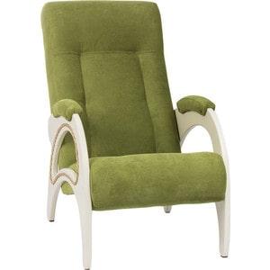 Кресло для отдыха Мебель Импэкс Комфорт Модель 41 дуб шампань, обивка Verona Apple Green