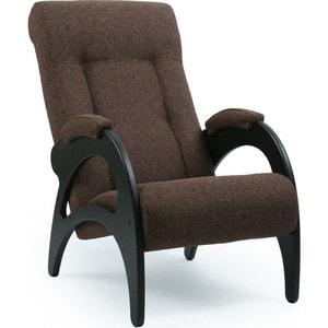 Кресло для отдыха Мебель Импэкс  Комфорт Модель 41-венге б/л каркас венге, обивка Malta 15 А