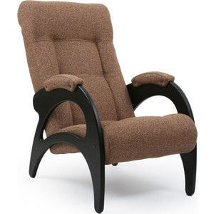 Кресло для отдыха Мебель Импэкс МИ Модель 41 б/л венге, обивка Malta 17 мебель для спальни модульная мебель композиция 10 б